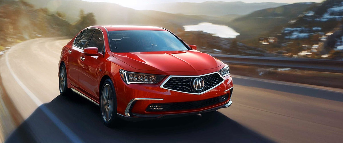 The New Acura RLX header