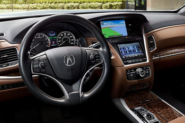 2019 Acura RLX Interior Features & Technology