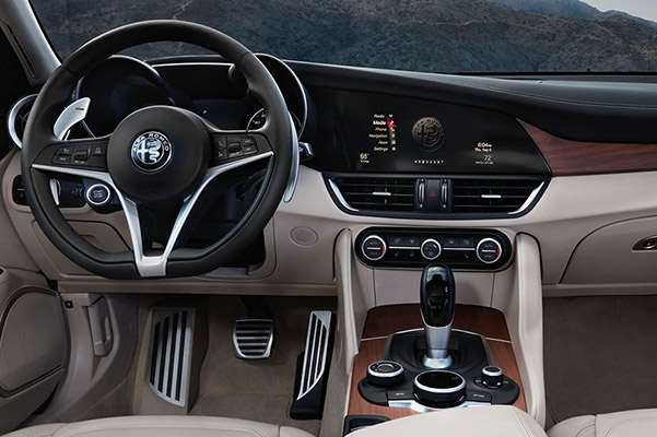 2019 Alfa Romeo Giulia Interior, Technology & Design