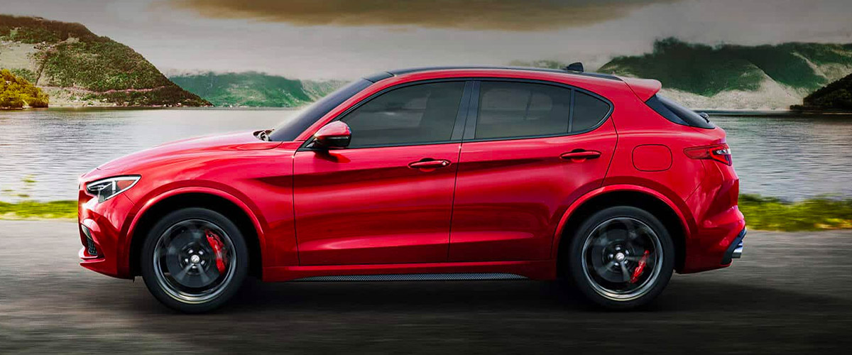 The 2019 Alfa Romeo Stelvio Header