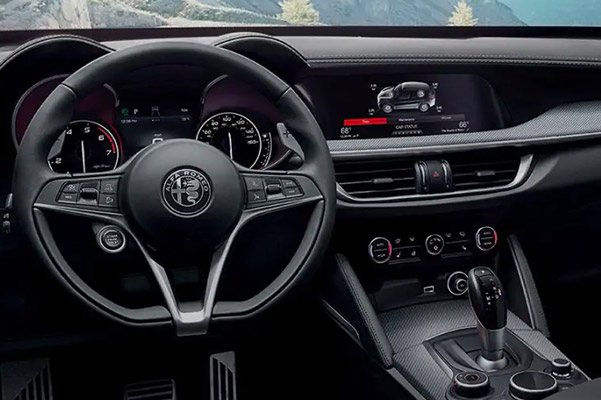 2019 Alfa Romeo Stelvio Interior Features, Safety & Technology