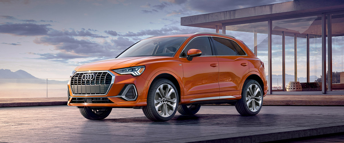The all-new 2019 Audi Q3 header