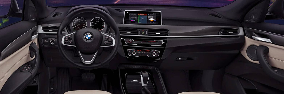 2019 BMW X1 Features: Interior & Technology