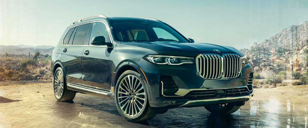 The All-New 2019 BMW X7  header