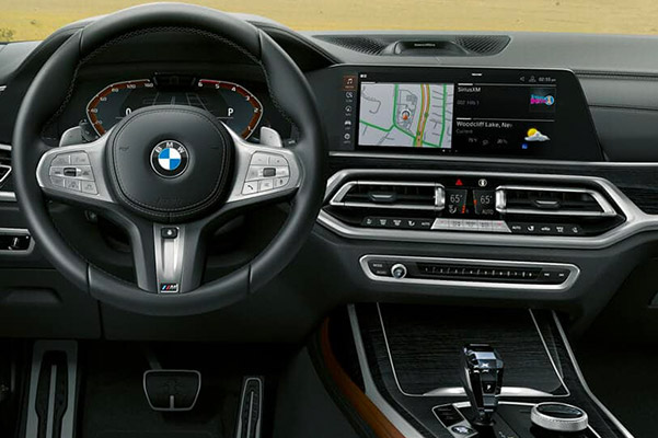 2019 BMW X7 Interior Features & Technology
