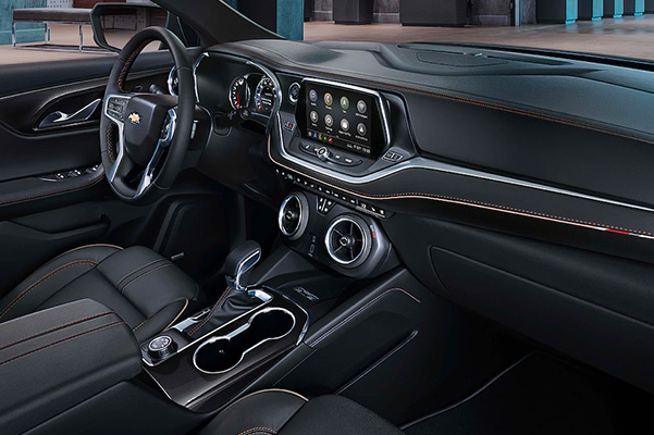 2019 Chevy Blazer Interior Amenities