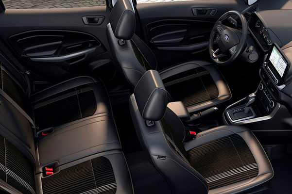 2019 Ford EcoSport Interior & Technology Features