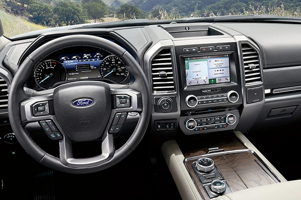 2019 Ford Expedition Interior Features & Technology