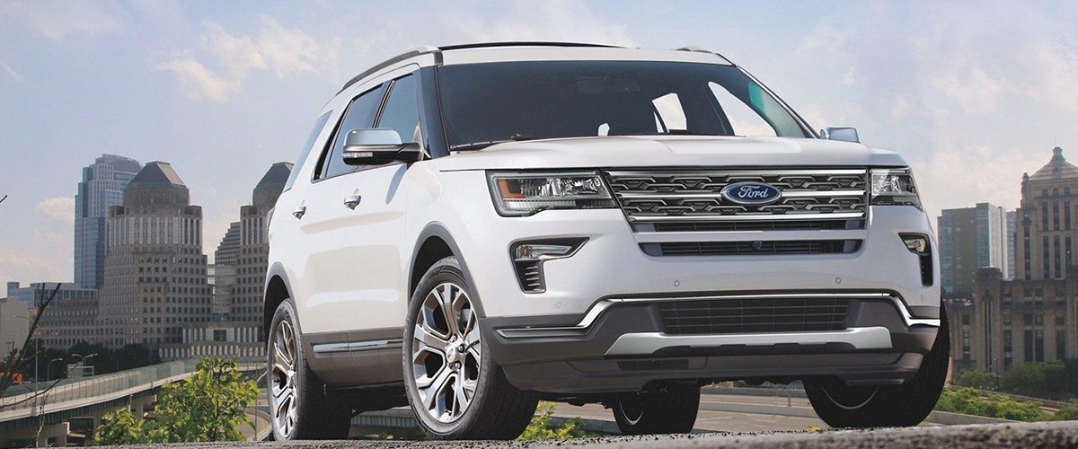2019 Ford Explorer header