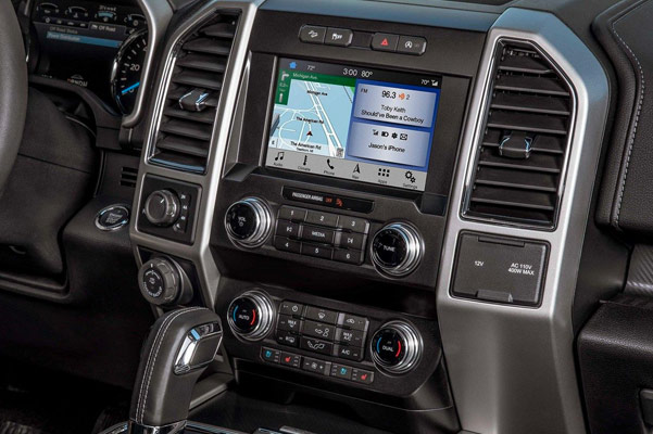 2018 Ford F-150 Interior Features & Technology