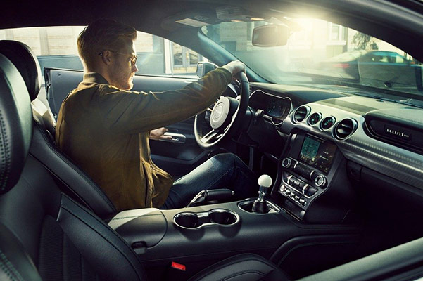 2019 Ford Mustang BULLITT Interior Features & Technology