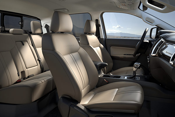 2019 Ford Ranger Interior & Safety