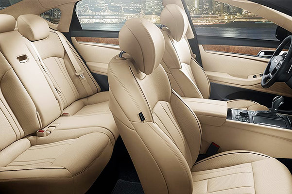 2019 Genesis G80 Interior & Exterior Features