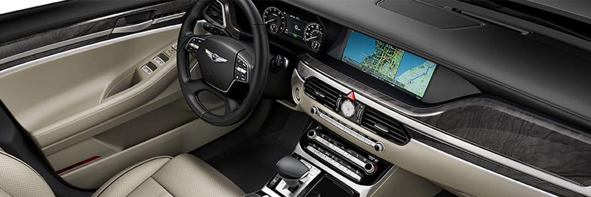 2019 Genesis G90 Interior & Amenities