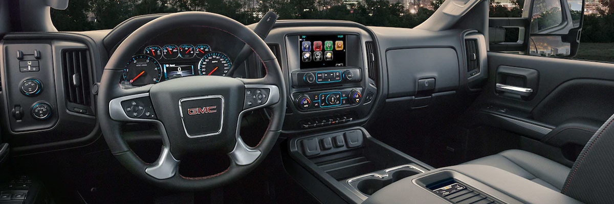 2019 GMC Sierra 2500HD Interior & Technology