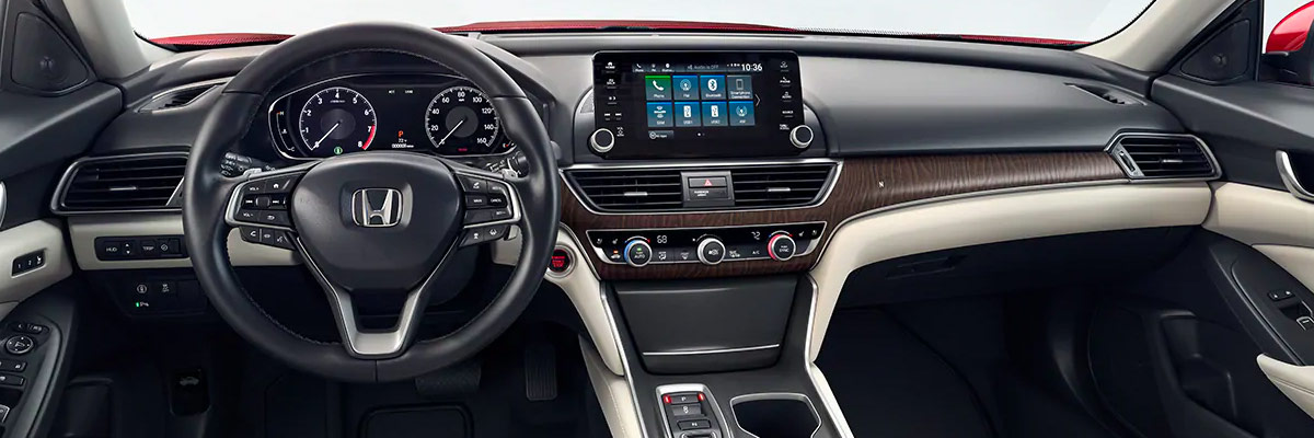 2019 Honda Accord Interior Amenities