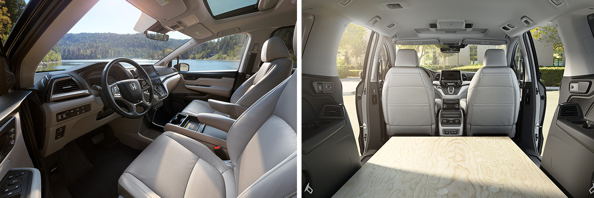 2019 Honda Odyssey Interior Features & Technology