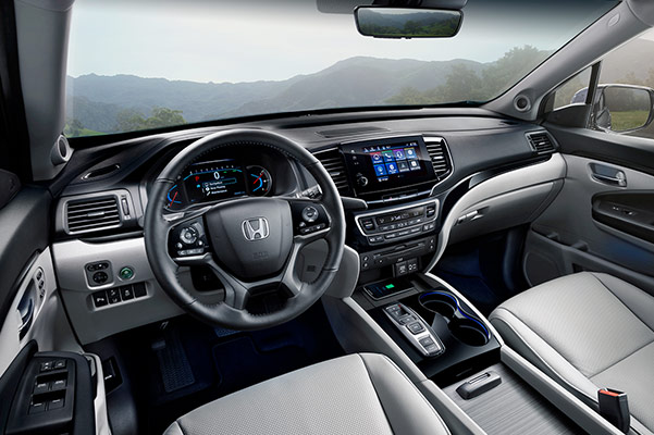 2019 Honda Pilot Interior Features & Technology