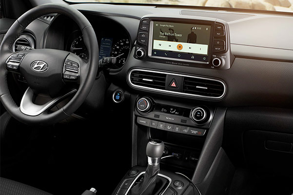 2019 Hyundai Kona Interior & Technology Features