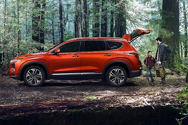 2019 Hyundai Santa Fe Specs & Safety