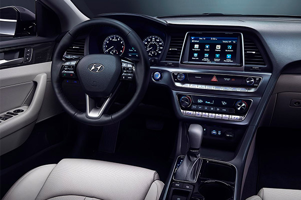 2019 Hyundai Sonata Interior & Technology