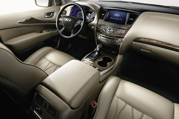 2019 INFINITI QX60 Interior & Technology