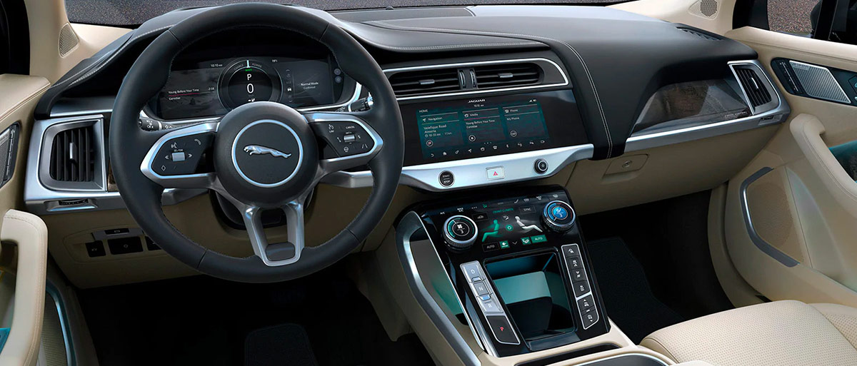 2019 Jaguar I-PACE Interior Features & Technologies