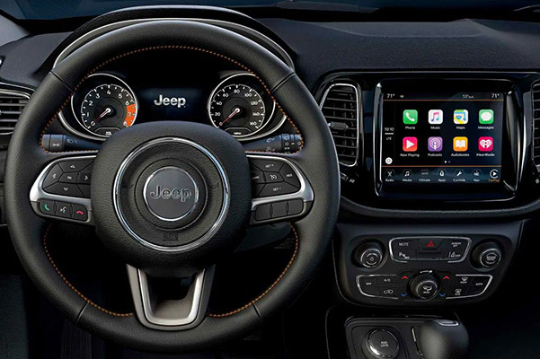 2019 Jeep Compass Interior Features