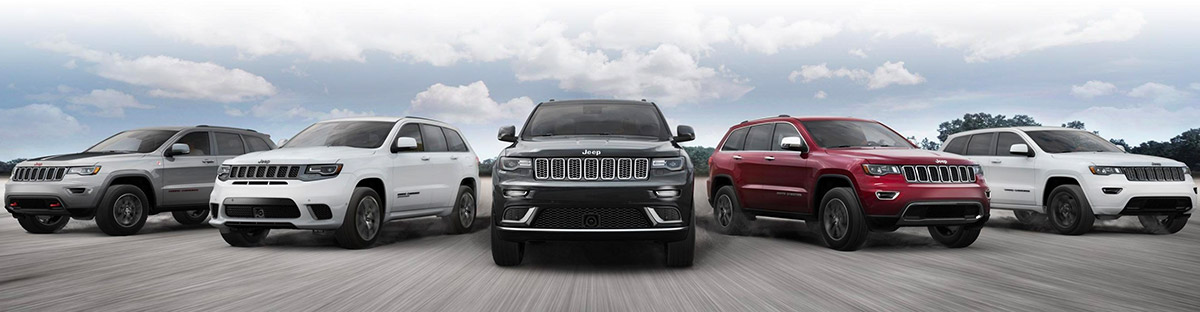2019 Jeep Grand Cherokee line up