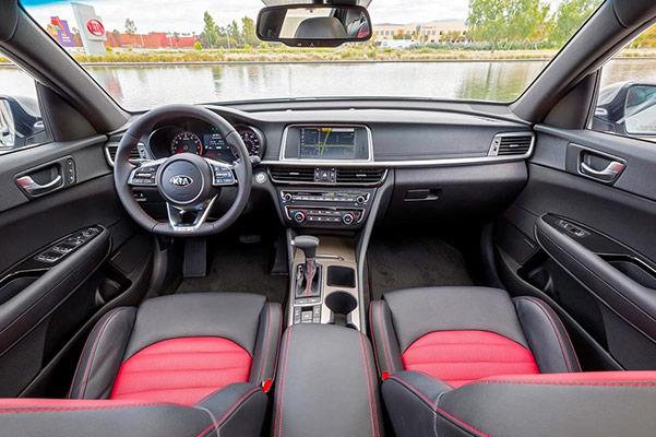 2019 Kia Optima Interior Features & Technology