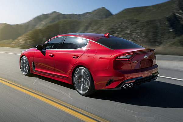 2019 Kia Stinger Specs, Performance & Safety Features