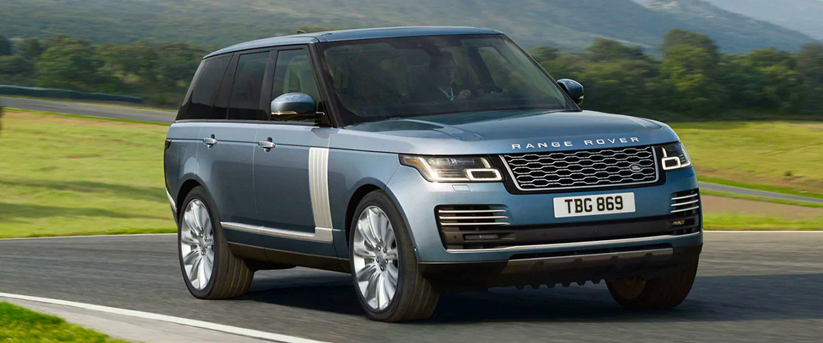 THE 2019 RANGE ROVER header
