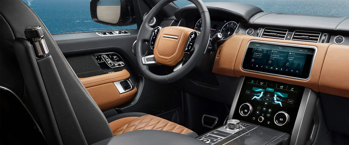2019 Range Rover Interior Features & Technologies