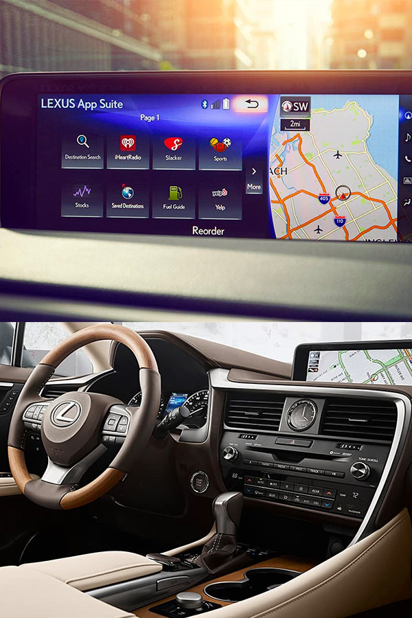 2019 Lexus RX Interior & Technology