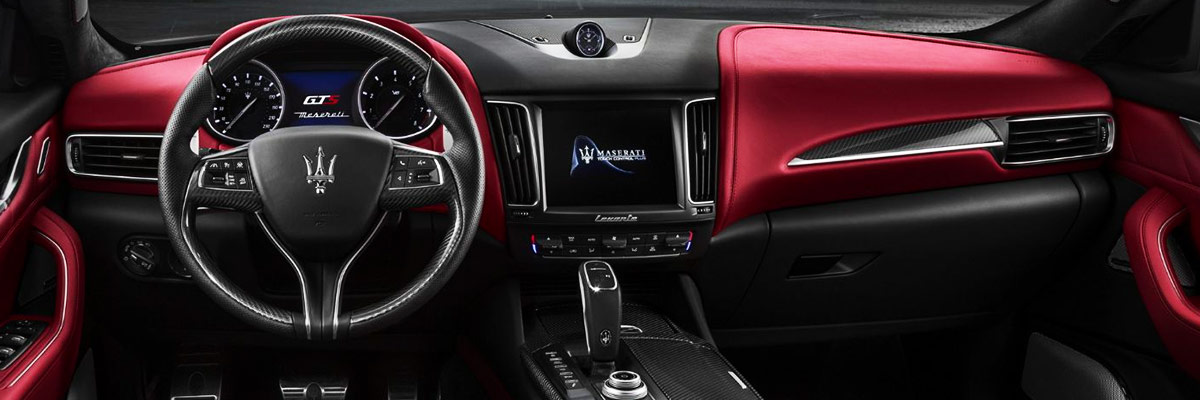 2019 Maserati Levante Interior & Technology