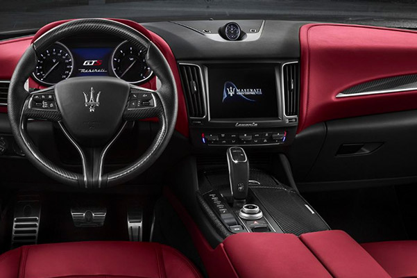 the 2019 Maserati Levante Interior