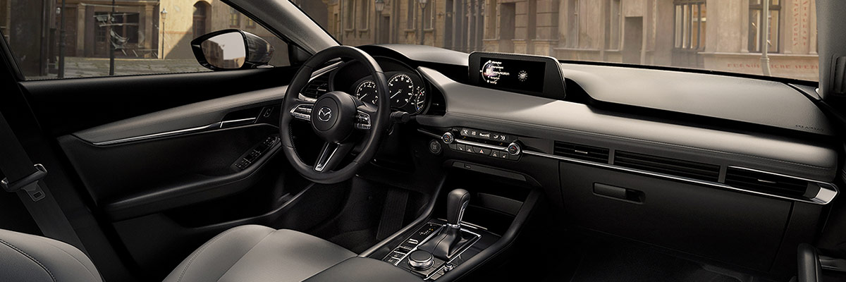 2019 Mazda3 Interior Features & Technology