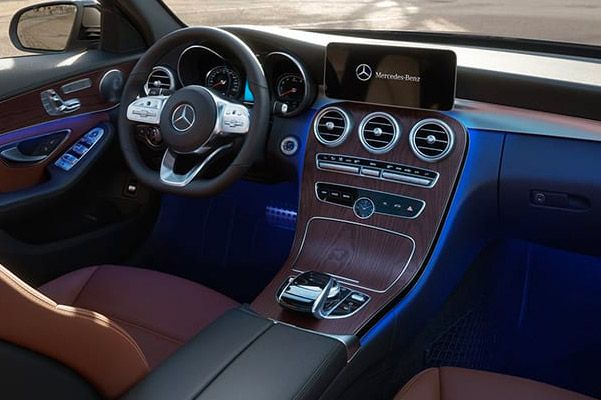 the 2019 Mercedes-Benz C 300 Interior