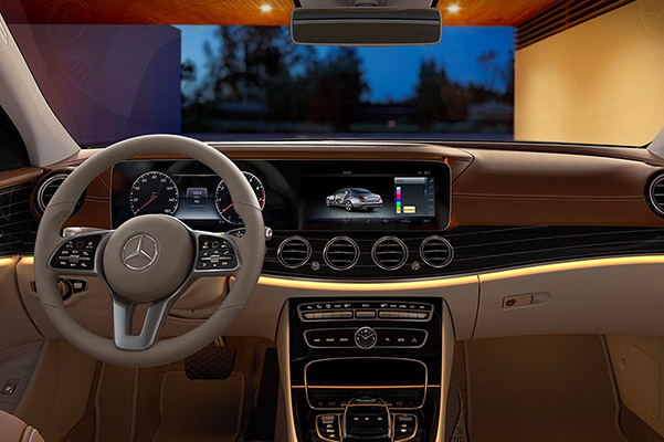 2019 Mercedes-Benz E-Class Interior & Technology