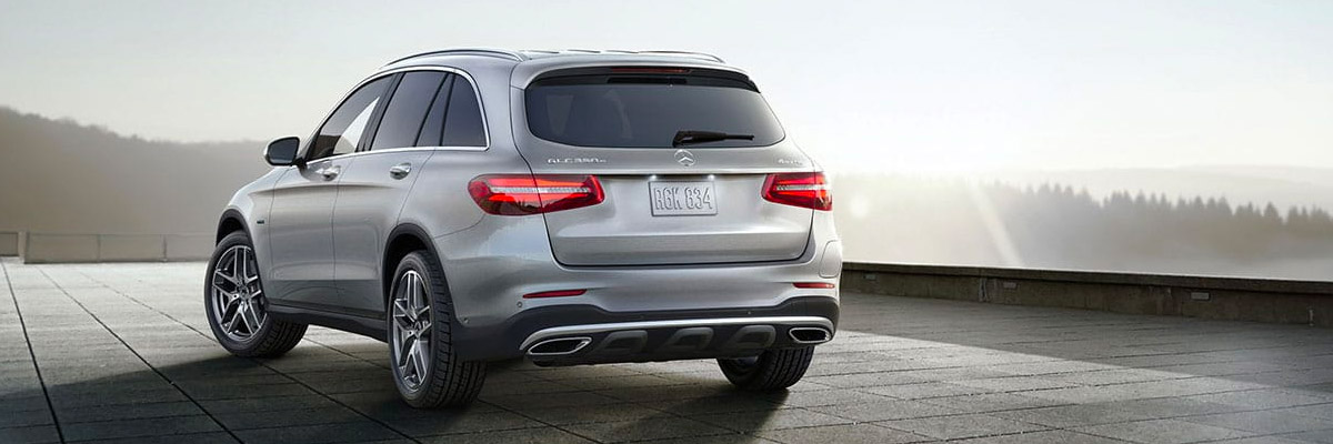2019 Mercedes-Benz GLC 300 back