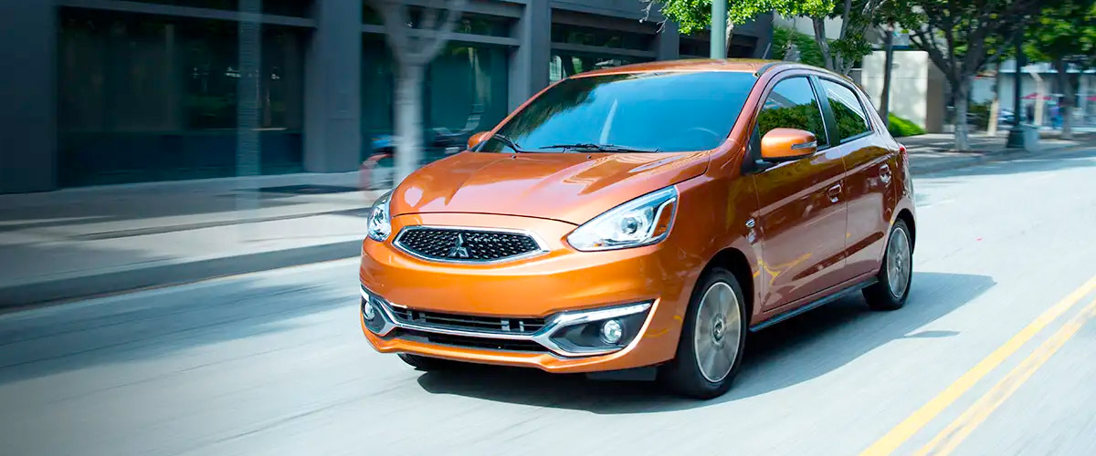 The All New 2019 Mitsubishi Mirage header