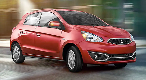 2019 Mitsubishi Mirage MPG Ratings & Safety