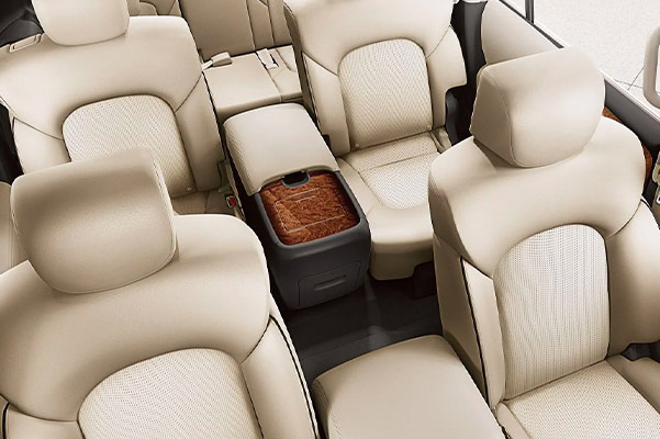 2019 Nissan Armada Interior & Technology