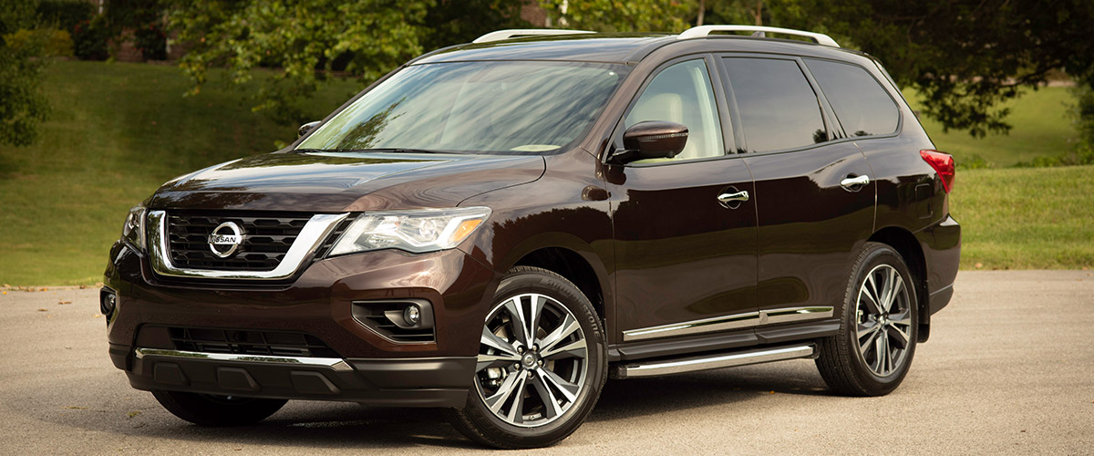 2019 Nissan Pathfinder header