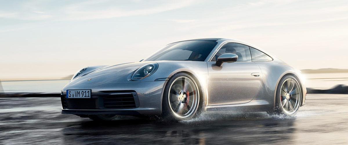 2019 Porsche 911 header