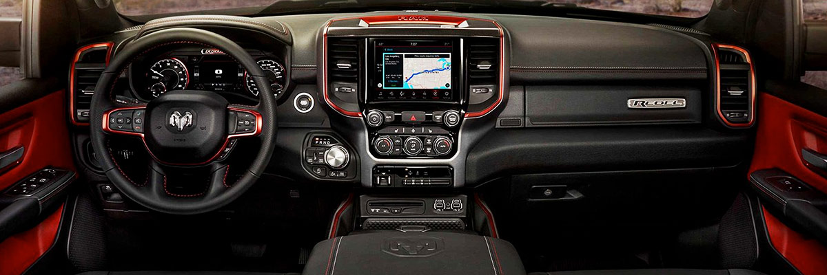2020 Ram 1500 Interior Features & Technology