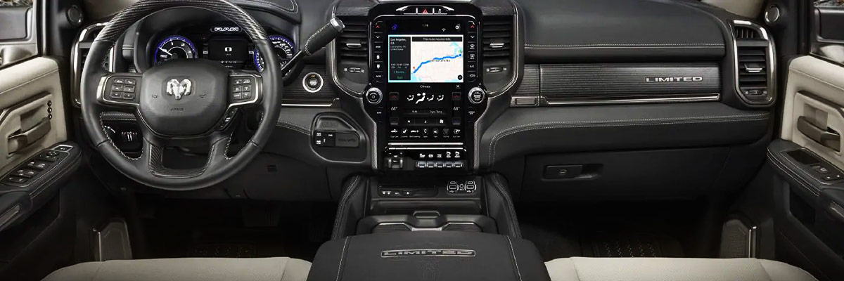 2019 Ram 2500 Interior & Technology