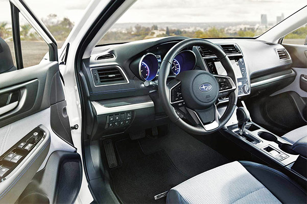 2019 Subaru Legacy Interior Features & Configurations