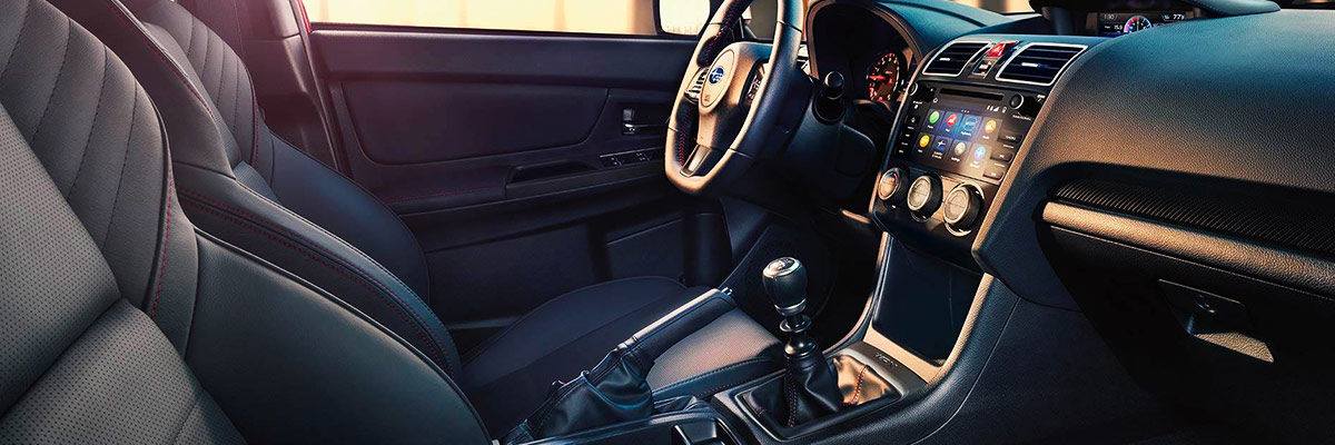 Subaru WRX Interior Features & Technology
