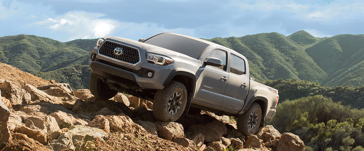 The 2019 Toyota Tacoma Header